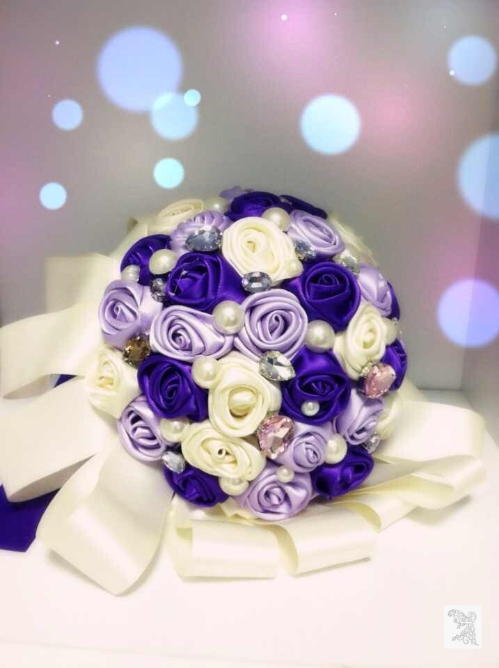Bouquet Mariage Luxe Violet 2015 2016