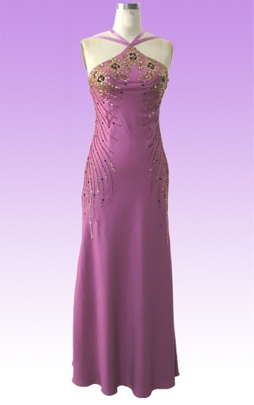 Robe Soirée Fourreau Sheath Dress Moulante Violette collection 2010